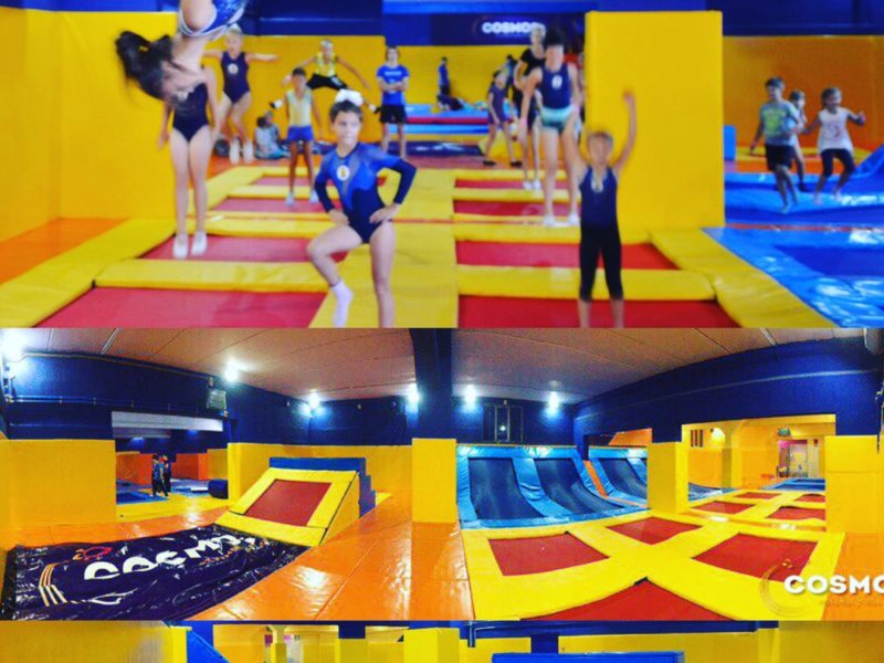 Батутный клуб COSMOS самый большой клуб Новороссийска